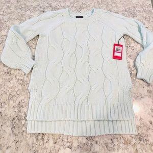 NEW Vince Camuto Seafoam Sweater XXS